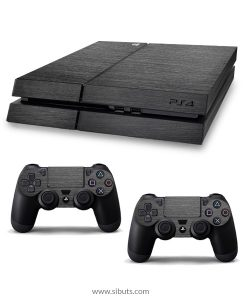 Skin para Ps4 consola y controles titanium brushed