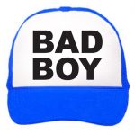 Gorra trucker camionero azul Bad Boy