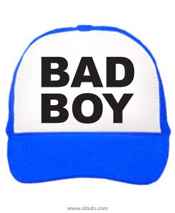Gorra trucker camionero azul Bad Boy