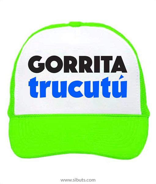 Gorra trucker camionero verde neón gorrita trucutú jpg 510x600 Neon gorra  verde 2eaab782097