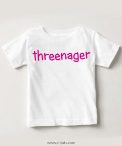 Playera niña Threenager