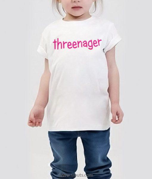 Playera niña Threenager