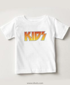 Playera niño blanca Kids Kiss