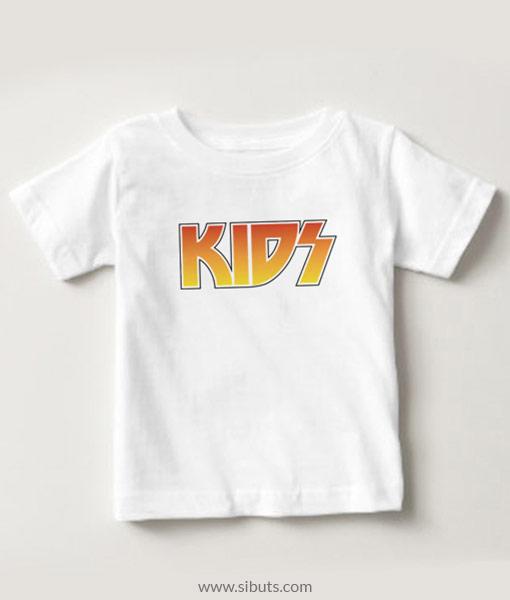 Playera niño blanca Kids Kiss