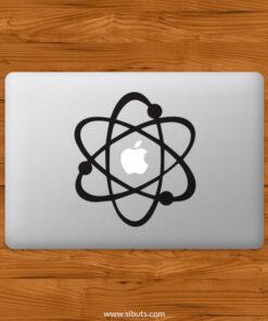 Sticker Calcomanía laptop macbook Átomo Big bang theory