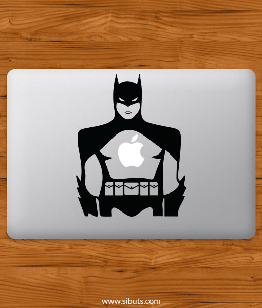 Sticker Calcomanía laptop macbook Batman