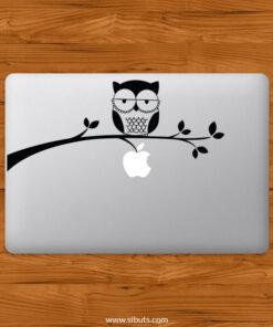 Sticker Calcomanía laptop macbook Buhó