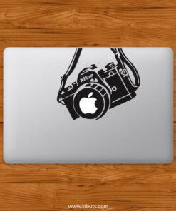 Sticker Calcomanía laptop macbook Cámara Fotográfica
