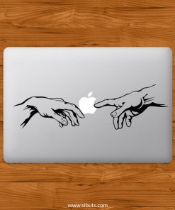Sticker Calcomanía laptop macbook Creación