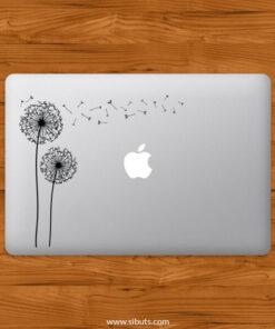 Sticker Calcomanía laptop macbook Dandelion