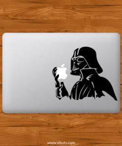 Sticker Calcomanía laptop macbook Darth Vader apple