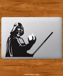 Sticker Calcomanía laptop macbook Darth Vader