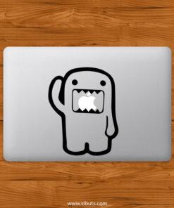 Sticker Calcomanía laptop macbook Domo