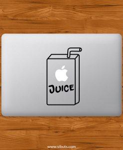 Sticker Calcomanía laptop macbook Juice