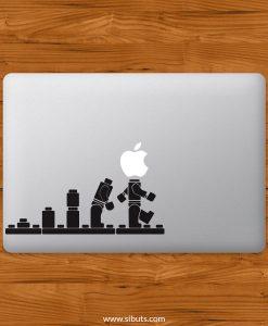 Sticker Calcomanía laptop macbook lego