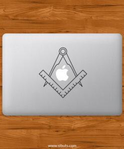 Sticker Calcomanía laptop macbook mason