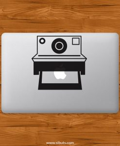 Sticker Calcomanía laptop macbook polaroid