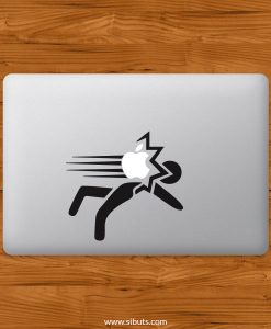 Sticker Calcomanía laptop macbook smack
