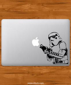 Sticker Calcomanía laptop macbook stormtrooper
