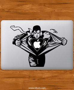 Sticker Calcomanía laptop macbook superman