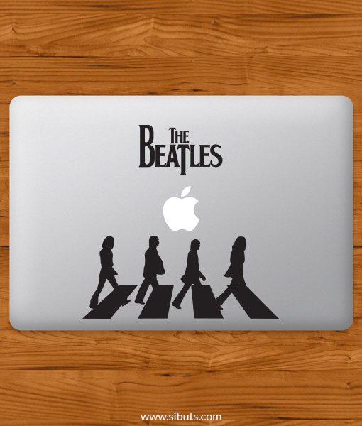 Sticker Calcomanía laptop macbook beatles