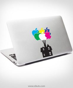 Sticker Calcomanía laptop macbook Up pixar