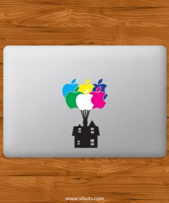 Sticker Calcomanía laptop macbook Up pixar