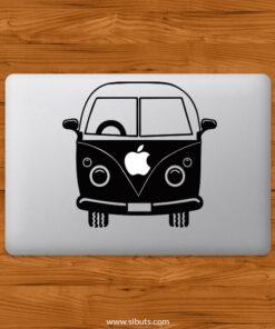 Sticker Calcomanía laptop macbook Van Combi