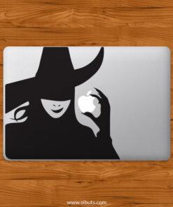 Sticker Calcomanía laptop macbook wicked