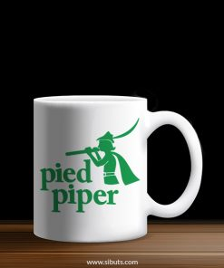 taza pied piper de la serie silicon valley
