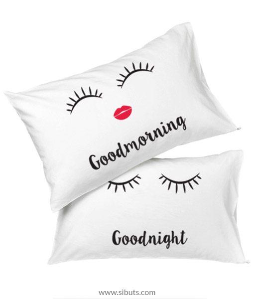 Cojines Good morning good night