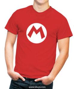 Playera para Hombre Mario Bros