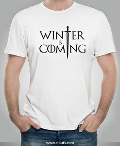 Playera hombre Winter is Coming