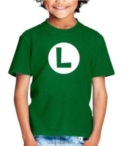 Playera para niño Luigi