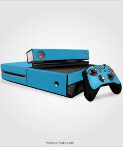 Skin consola, control y Kinect, Xbox One color Azul cielo