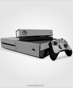 Skin consola, control y Kinect, Xbox One color Gris