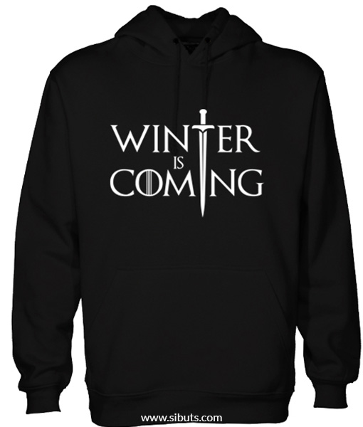Sudadera hombre Winter is coming