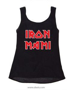playera mujer blusa Iron Mami