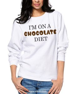 Sudadera I'm On a Chocolate Diet