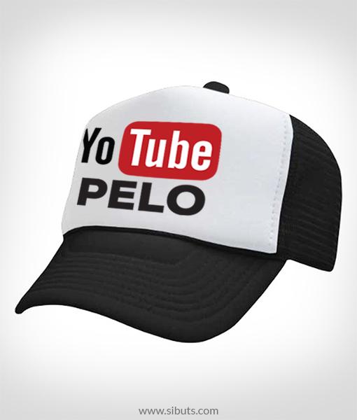 Gorra Trucker Yo Tube Pelo- Sibuts Tienda online d772650779d