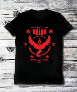Playera Hombre Pokemon Go Team Valor