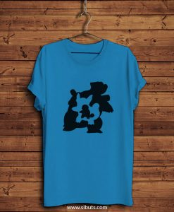 Playera hombre azul Pokemon Squirttle Evolution