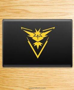 Sticker para laptop de Pokemon Go Team Instinct