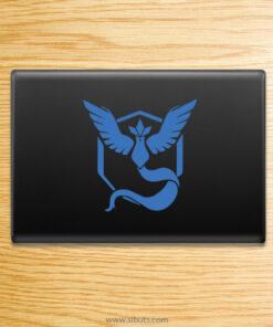 Sticker para laptop de Pokemon Go Team Mystic