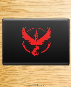 Sticker para laptop de Pokemon Go Team Valor