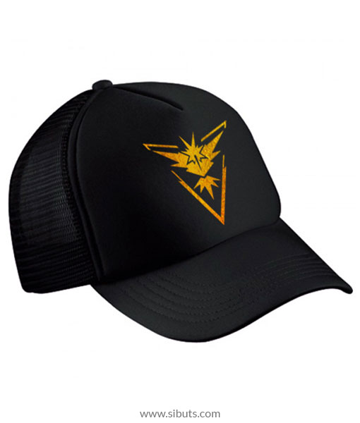Gorra Pokemon Go Team Instinct Dorada