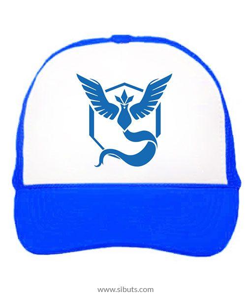 Gorra Azul Pokemon Go Team Mystic - Sibuts Tienda online 0d408aaa502