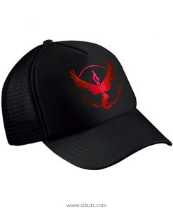 Gorra Pokemon Go Team Instinct Valor Rojo Cromo