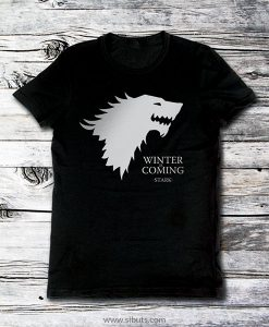 Playera hombre game of thrones house stark