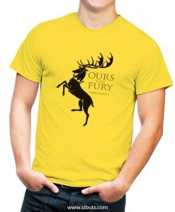 Playera hombre game of thrones house baratheon
